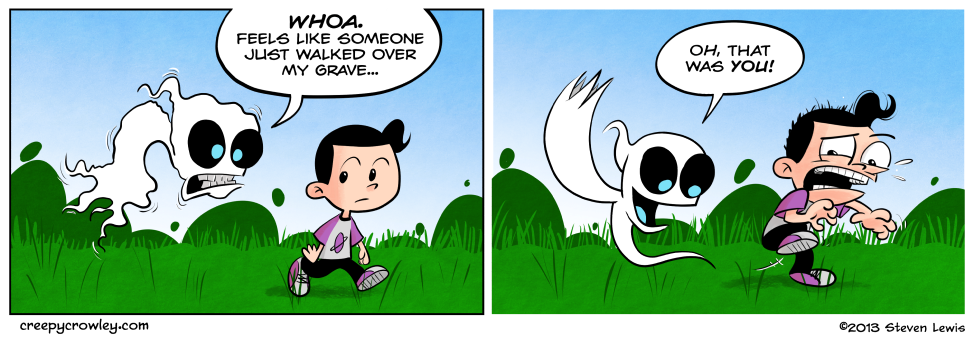 I hope you dig this comic. :)